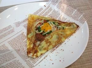 和カフェ・洋カフェのデザートのクレープに挑戦!!