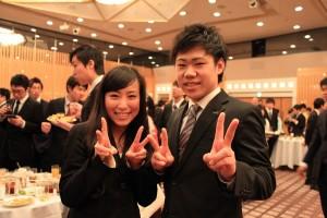 北本さんと角田君