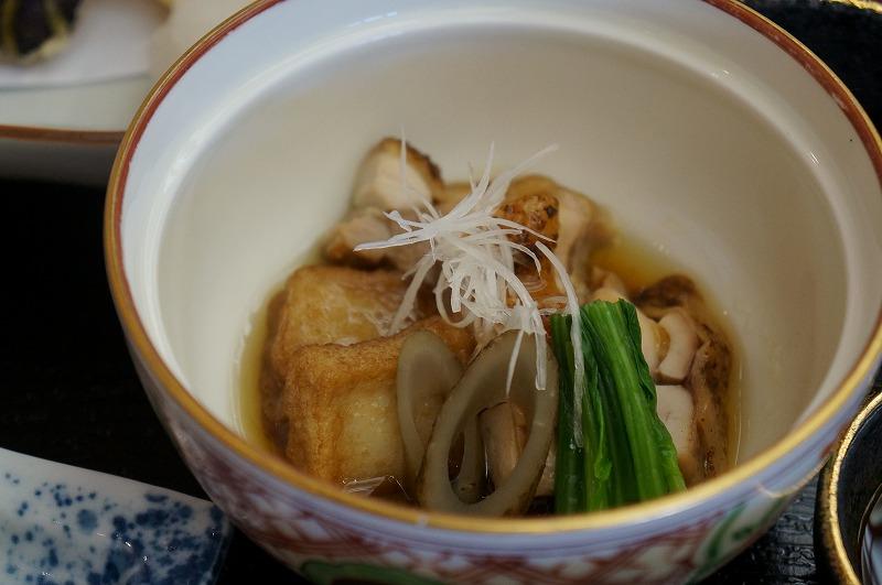 鶏もも肉旨煮・生麩揚煮