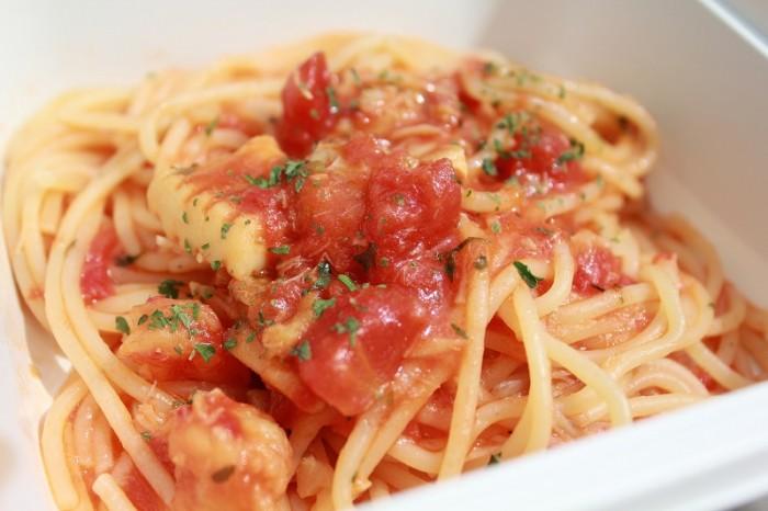 魚介のトマトスパゲッティ②