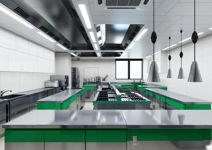 イタリア料理実習室