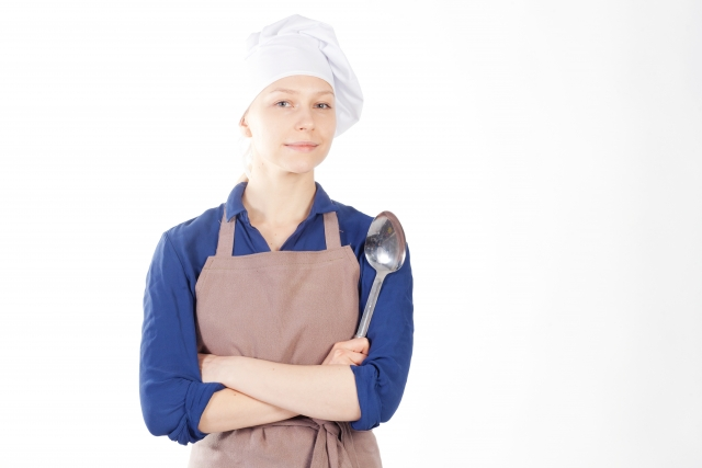 コック帽は、料理人の大切なユニフォーム!