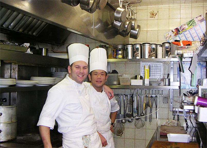 フランス星付きレストランでのスーシェフ(副料理長)時代