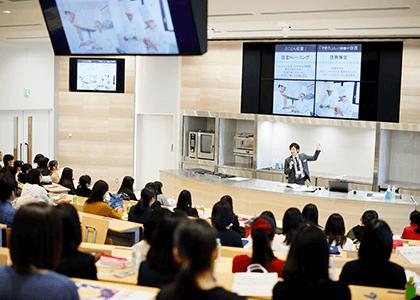 京都調理の入試説明会