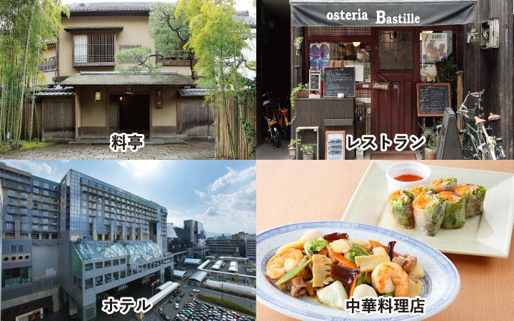 料亭 レストラン ホテル 中華料理店
